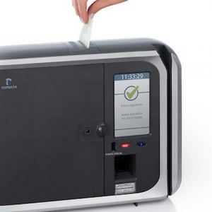 Relógio de ponto digital biométrico homologado