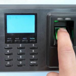 Relógio de ponto de cartão